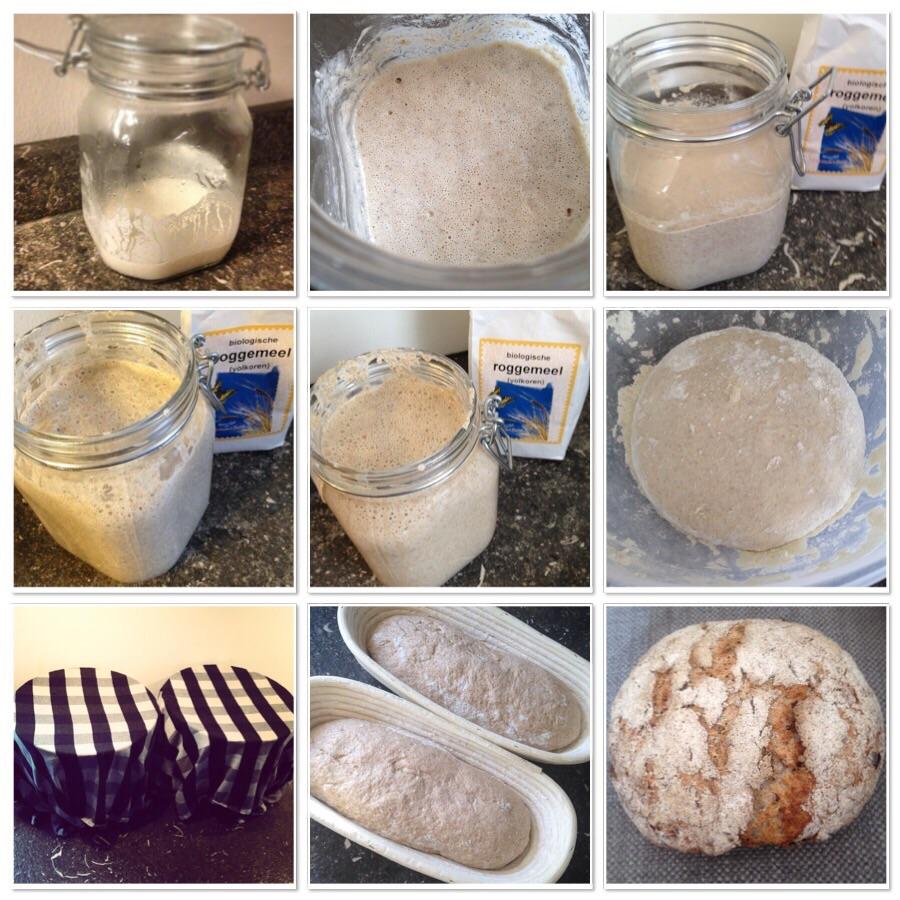 recept voor zuurdesembrood