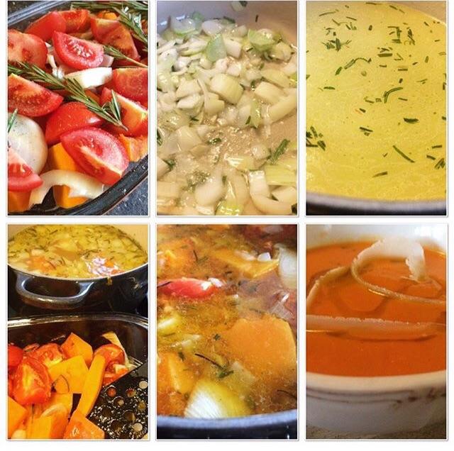 tomaat-pompoensoep