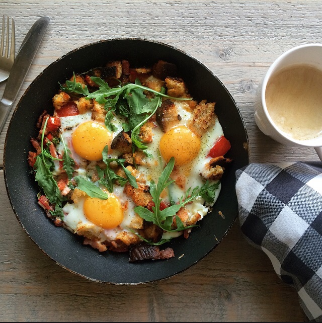 in 1 pan ontbijt
