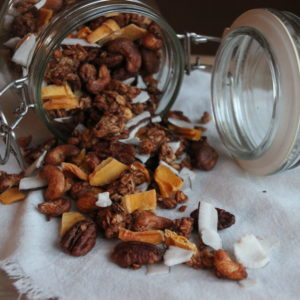 Fruity granola