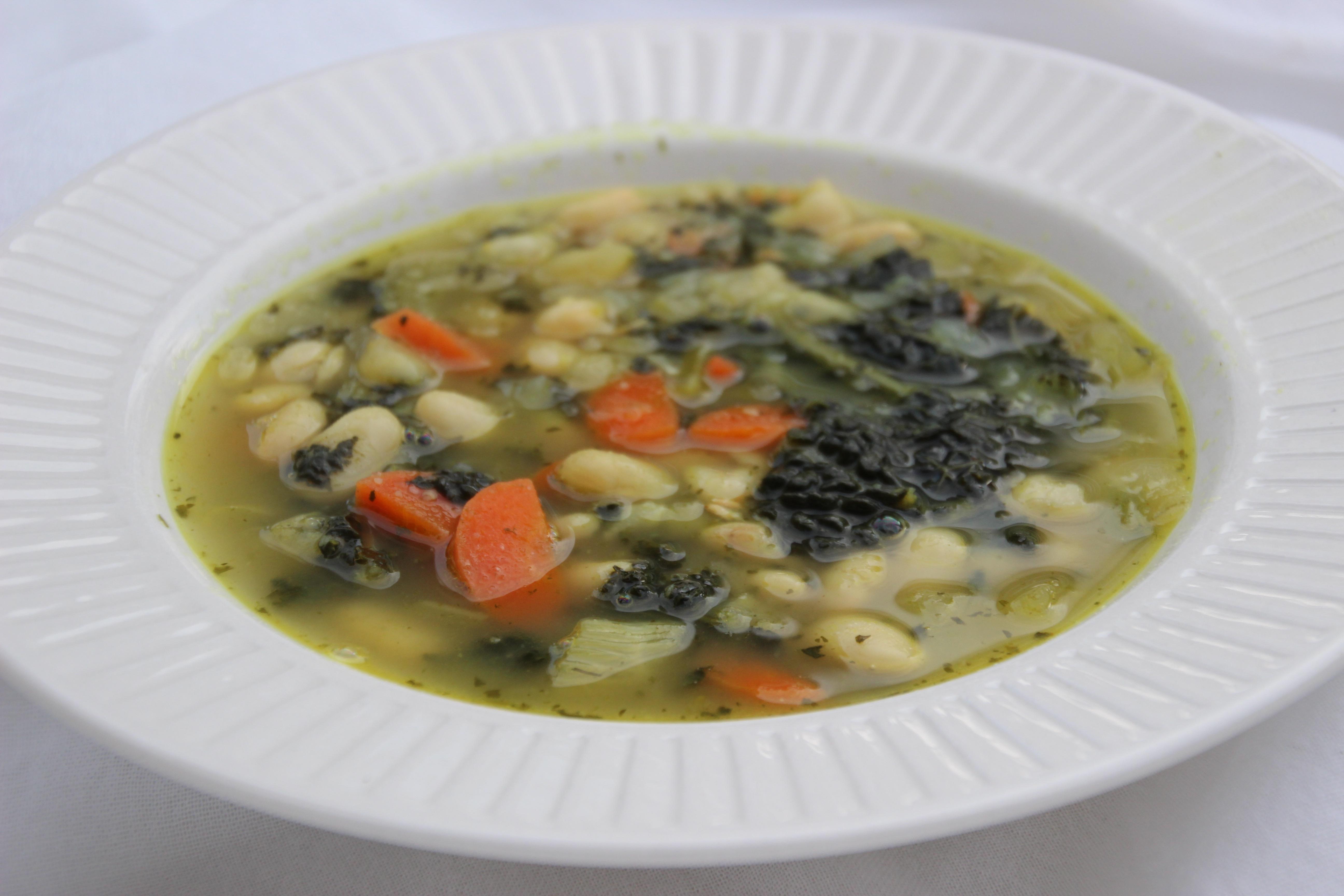 soep met witte bonen