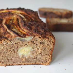 suikervrije bananenbrood