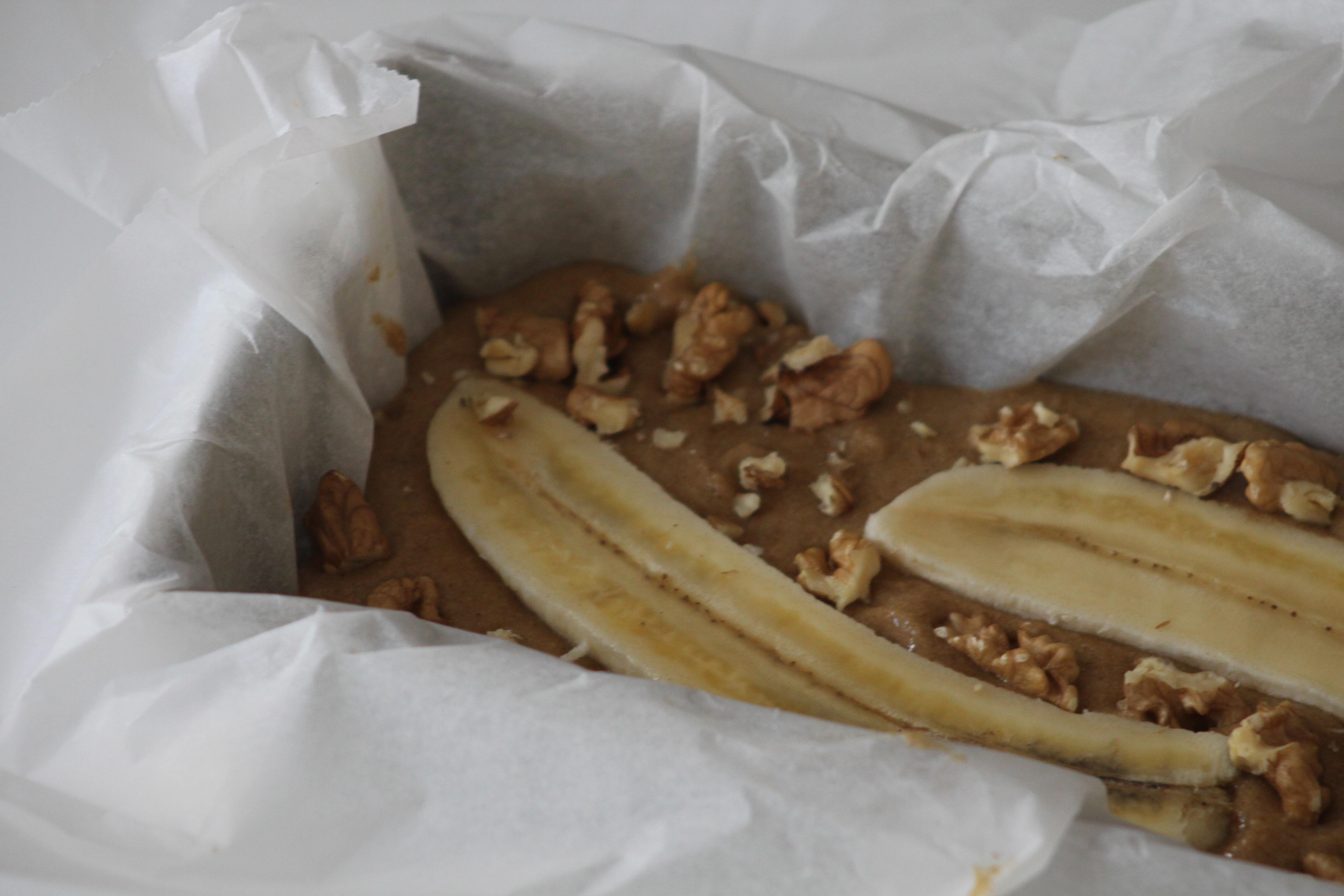 Bananenbrood met walnoot