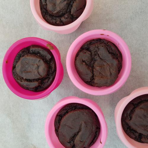Avocado Chocolade Muffins