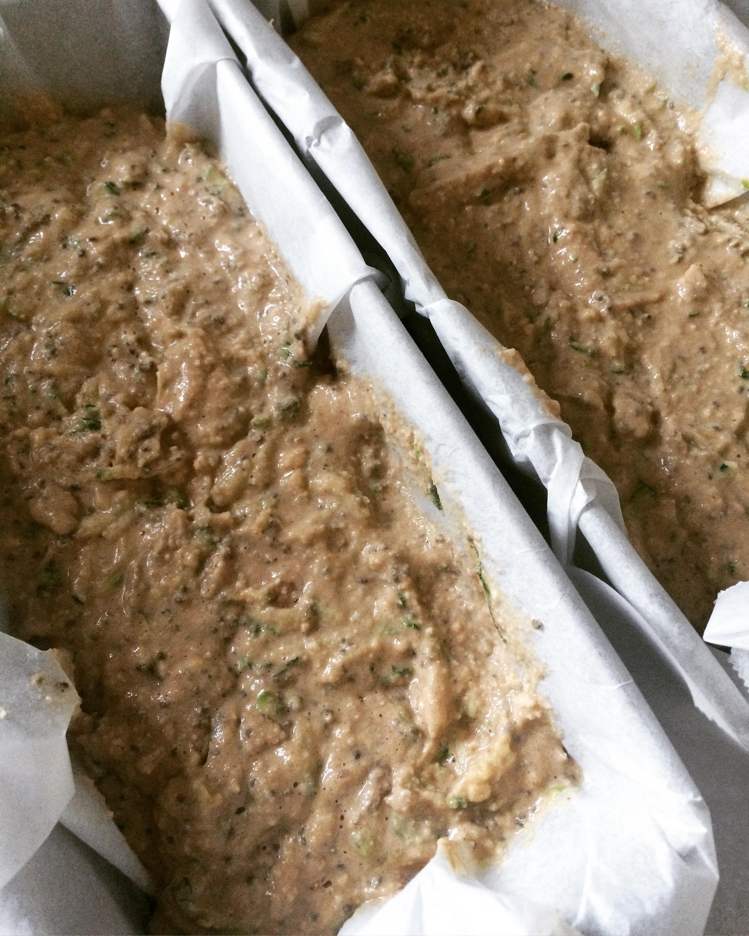 courgette bananenbrood met tijm