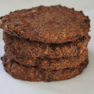 healthy ei-vrije choco oats cookies