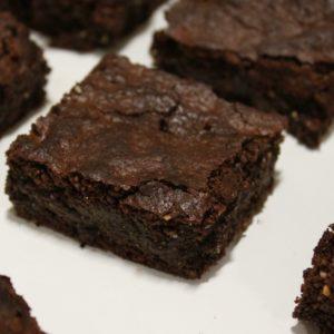 Nutella brownies met pure chocola